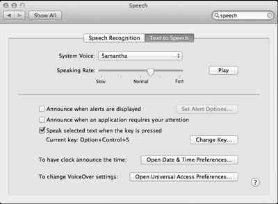 speech pane